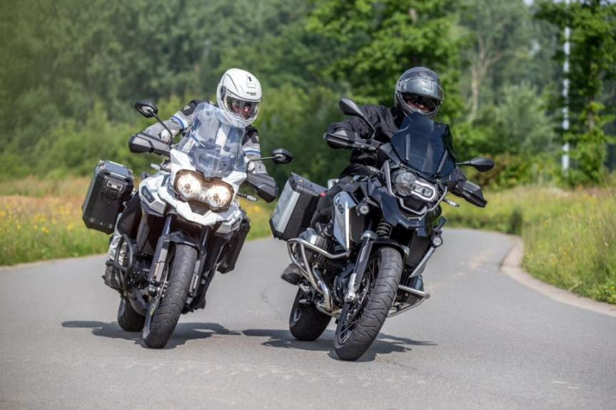 Males and motorbikes…