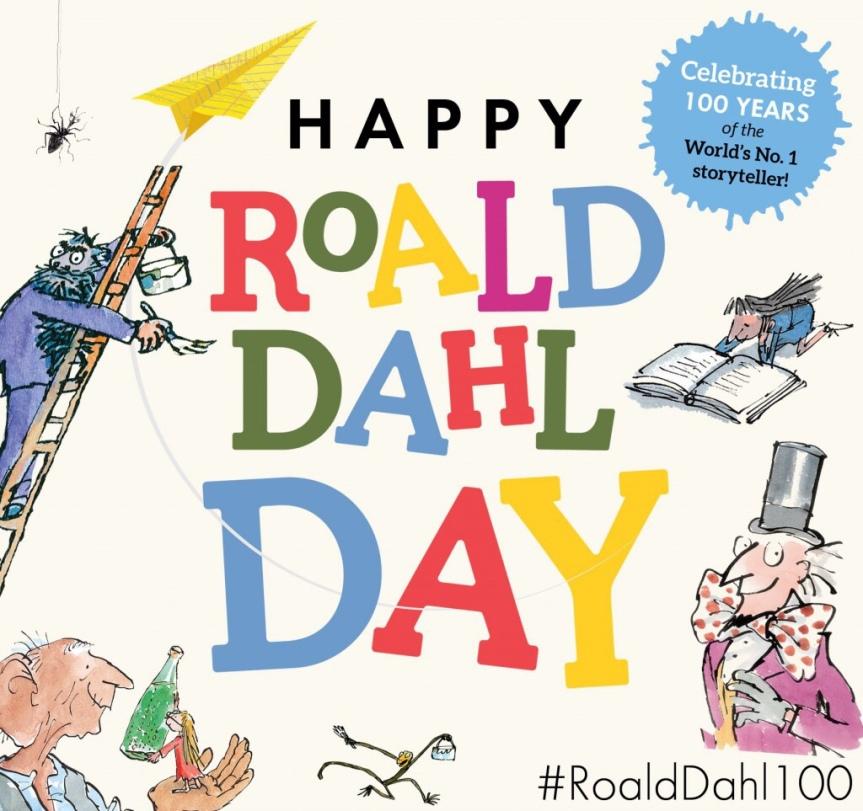 Celebrate Roald Dahl Day …Vaccinate
